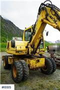 Komatsu PW110, 1999, Excavadoras de ruedas