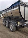 Norslep 3 axle asphalt trailer with quick lock for changin, 2009, Andre hengere