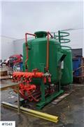 Big-Clem 3300 Sandblasting apparatus w/ 4 outlets, Annet