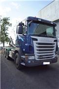 Scania G 480, 2012, Rol kiper kamioni sa kukom za podizanje tereta