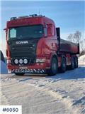 Scania R 480, 2007, Camiones elevadores de gancho