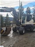 Terex TW 110, 2014, Excavadoras de ruedas