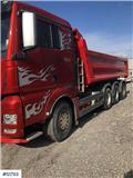 MAN TGX 8X4-4 BL Tippbil Tipp Truck, 2015, Sora- ja kippiautot