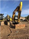 JCB JS 220 LC, 2011, Excavadoras sobre orugas