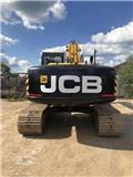 JCB JS 220 LC, 2012, Excavadoras sobre orugas