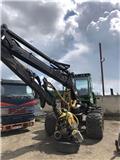 John Deere 1070 D, Miško technika (Harvesteriai)