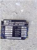 Takraf Most DFG Wózek widłowy, Osi