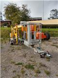Omme Mini 12, 2010, Trailer mounted aerial platforms