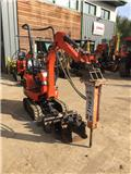 Kubota K 008-3, 2016, Mini excavators < 7t (Mini diggers)