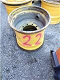 John Deere 1010 E, Däck, hjul och fälgar