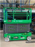 KB-Lift S-160W, NEW 16m electric scissor lift, warranty, 2019, Plataformas tijera