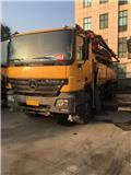 Mercedes-Benz 46M, 2008, Concrete pump trucks
