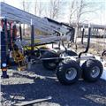 Multiforest 950, 2018, Forest trailers
