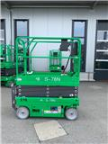 KB-Lift S-78N, NEW 7,8m electric scissor lift, warranty, 2019, Plataformas tijera