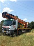 Italmec-Mercedes Benz truck  8X6 - year 2005, 2005, Other lifts and platforms