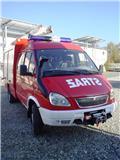 Пожарный автомобиль ГАЗ ela 4x4 Pożarniczy Strażacki, 2007 г., 90000 ч.