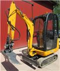 JCB 8014, 2007, Mini bagri <7t