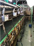 Westfalia 2X9 50 graden, 2000, Milking equipment