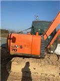 Hitachi ZX 70, 2014, Mini excavators < 7t (Mini diggers)