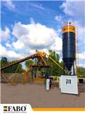 75m3/h STATIONARY CONCRETE MIXING PLANT, 2021, Plantass dosificadoras de concreto
