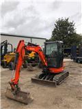 Kubota U 25-3 A, 2013, Mini excavators < 7t (Mini diggers)