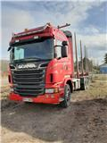 Scania R 620 LB, 2012, Log trucks
