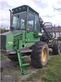 John Deere 1010 D Eco III, 2009, Forwarder