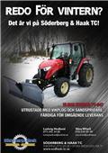 Трактор  VINTERKAMPANJ YANMAR YT347, 2018