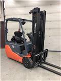Toyota 8 FB ET 15, 2012, Electric Forklifts