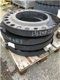 Terex Stenskyddsring, Tires, wheels and rims