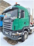 Scania R420 / JYKI V31 TO, 2008, Log trucks