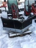 XYZ vikplog 225 cm, 2017, Sneeuwschuivers en -ploegen