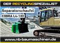 Cobra L 4-180 | Schaufelseparator | Siebschaufel, 2021, Wheel loaders