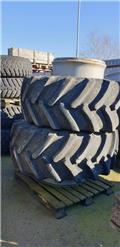 Alliance 600/70R28 Dubbelmontage, Ruedas dobles