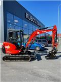 Kubota KX 101-3 A 2, 2015, Mini excavators < 7t (Mini diggers)
