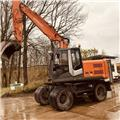 Hitachi ZX 140 W, 2013, Wheeled excavators