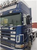 Scania 124 G, 2003, Koukkulava kuorma-autot