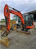 Kubota KX 057-4, 2013, Mini Escavadoras <7t