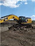 Caterpillar 349 E, 2012, Excavadoras sobre orugas