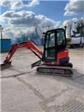 Kubota U 27-4, 2016, Mini Excavators <7t (Mini Diggers)