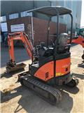 Hitachi ZX 17 U-2, 2011, Mini Excavators < 7T (Mini Diggers)