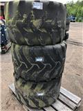 Kpl Hjul Terex TW75-95, Yanmar B75-B95, Däck, hjul och fälgar