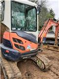 Kubota U25-3EU, 2009, Mini Excavators <7t (Mini Diggers)