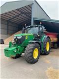 John Deere 6195 R, 2017, Tractors