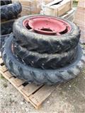 Dunlop 9.5-44 + 8/3-28, Hjul, Dæk og Fælge