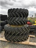 Michelin 480/80R46 + 480/70R30 Trelleborg, Tyres, wheels and rims