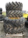 Michelin 520/85R46 + Trelleborg 520/70R30, 2013, Reifen