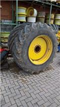 Michelin 710/60R38+600/60R28 XEO BIB ca. 80%, 2011, Wheels