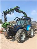 Valtra N122 c/w 2017 Botex 570B Timber Loader, 2009, Skogstraktorer