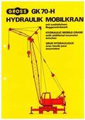 Gross GK 70 HV, 1979, Bangående Kranar